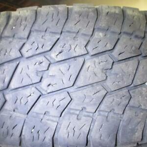 NITTO TERRA GRAPPLER LT 265/70R17 10 PLY TIRES 80% TREAD