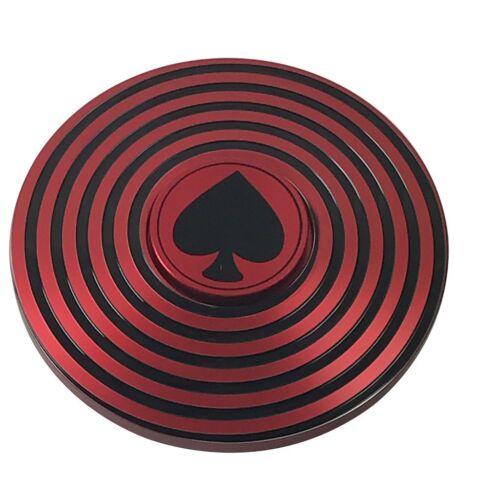 Spade Spiral Poker Card Protector Fidget Hand Spinner NEW
