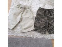 Boys' crops - Age 11/12 years -Next and Flipback (2 pairs) £5
