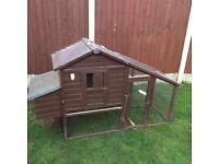 Chicken/rabbit coop