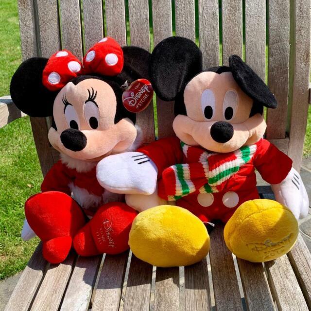 Christmas Minnie Mouse Plush.Disney S Christmas Mickey Minnie Mouse Plush Toys 2010 In Brentwood Essex Gumtree