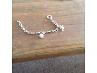Thomas sabo braclet with 2 charms