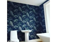 Fully Qualified Decorater - female painter and decorator - murals, painting, wallpaper