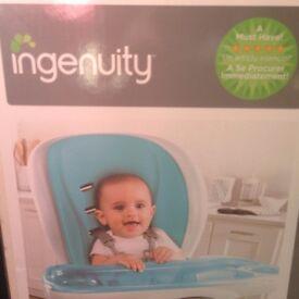 Ingenuity Trio 3-in-1 Smart Clean Highchair unopened BRAND NEW IN BOX