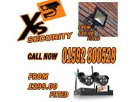 Low cost home security solutions cctv systems led security lights