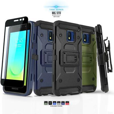 for SAMSUNG GALAXY J2 PURE,  Phone Case & Holster +Tempered