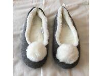 Carvela Pom Pom slippers