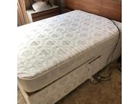 Double electrically operated bed