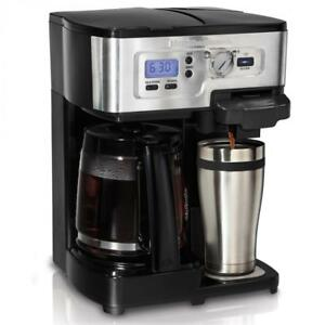 USED Hamilton Beach Flexbrew 2 Way Coffee Maker