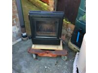 A nice woodburning stove fire.