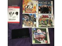 Nintendo 3DS Bundle 5 Games & Charger Pokemon Zelda Monster Hunter