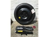 Toyota spare wheel never been used