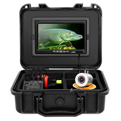 "Eyoyo EF07 7"" 50M/30M/15M 8GB Underwater Fishing Camera Fish Finder 12pcs IR LED"