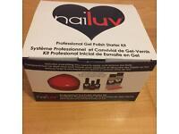 Nailuv Nude Colour Gel Nail Polish Manicure Complete DIY Starter Kit Set UV Lamp