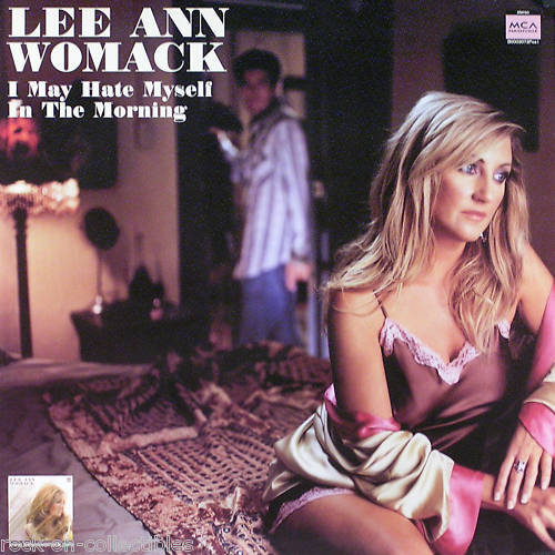 Lee Ann Womack 2004 Hate Myself In The Morning Original Promo Poster