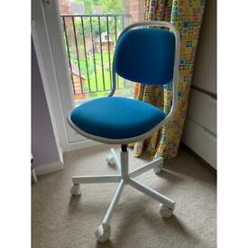 Children's IKEA ORFJALL desk chair