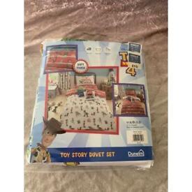 Brand new toy story 4 single bed duvet set