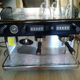 Silvestra 2 group coffee machine by Rijo 42