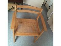 1980's Habitat Chair made of Wood