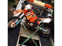 200cc KTM road legal registerd as a 125cc