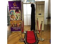 PHOTO BOOTH HIRE- £199- 3 HOURS UNLIMITED PRINTS + FUN PROPS