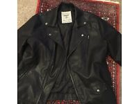 Large Red Herring Leather Jacket