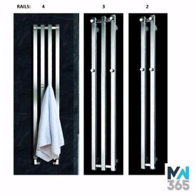 Zaga Vertical Chrome Radiator
