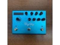 Strymon Big Sky Reverb Pedal, can post, boxed, very good condition guitar bass keyboard midi