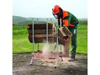 NEW WOODCRAFT LOG HORSES, CHAINSAW SAFETY EQUIP , BALLYNAHINCH , FREE NI DELIVERY
