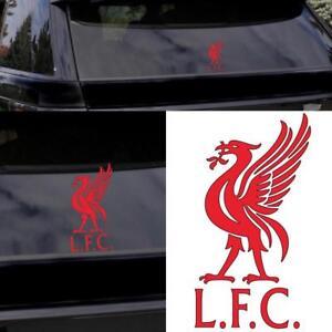 LIVERPOOL FC / LFC Red Liver Bird Car Sticker / Window Decal