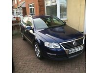 Vw Passat 57 plate 153k with service history, excellent condition