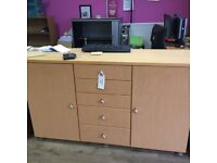 Hayes Office shelves, cabinets and chairs furniture shop closure last day clearance offers taken
