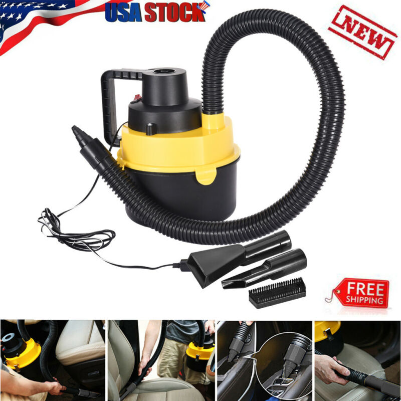Car Vacuum Cleaner 12V With 120W For Auto Portable Wet Dry H