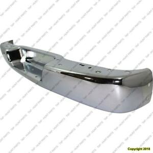 Bumper Face Bar Rear Chrome GMC Savana Van 2003-2016