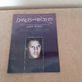 Dance with Wolves music book
