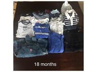 18 months boys' clothes