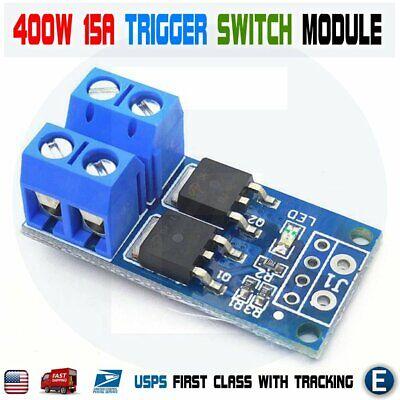 15a 400w Mos Fet Trigger Switch Drive Module Pwm Regulator Control Current Panel