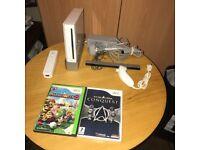 Nintendo Wii Console + Mario