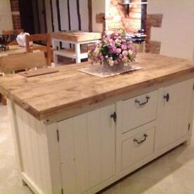 Beautiful classic kitchen island centre piece