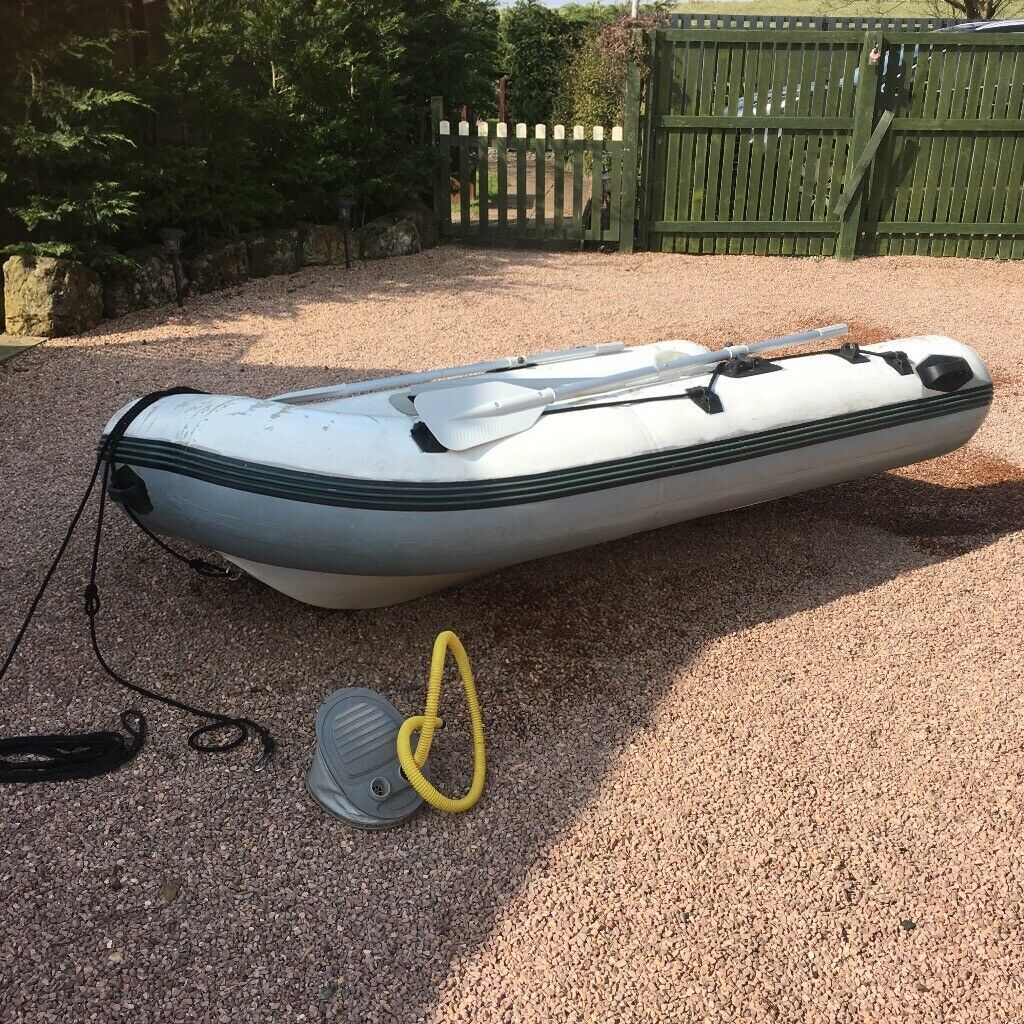 Plastimo Dinghy / Tender with hard bottom base  | in Leven, Fife | Gumtree