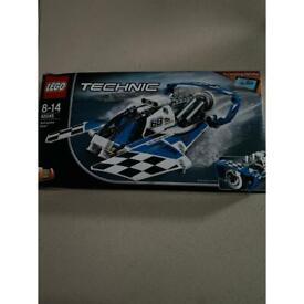 UNOPENED Lego technic hydroplane racer