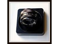HOYA 75MM F4.5 ENLARGER LENS-MINT COND..