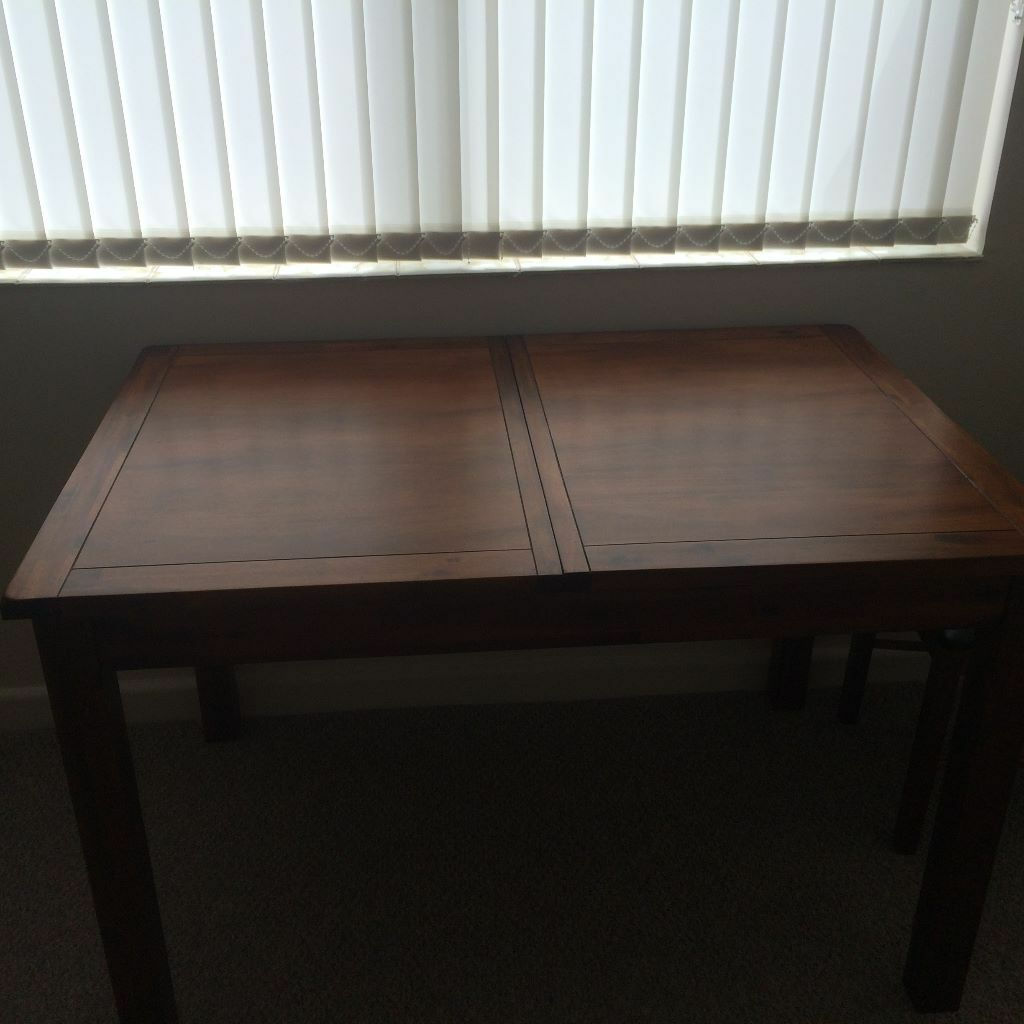 Small dining table with inserting middle leaf and 4 chairs  : 86 from www.gumtree.com size 1024 x 1024 jpeg 73kB