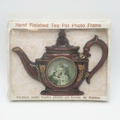 Vintage Tea Kettle Picture Photo Frame for Scrapbooking NOS