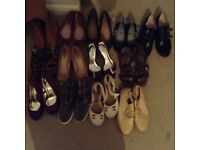 Girls and ladies used shoes in excellent condition