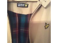 2 x adidas tracksuit tops/ Lyle and Scott jacket x 1