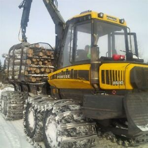 2014 Ponsse Wisent Forwarder
