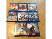 Blue ray DVDs for sale