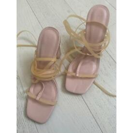 WOMENS ASOS STRAPPY SANDLES SIZE 7 - MUST GO TODAY!! OFFERS WELCOME!