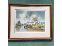 Limited Edition Watercolour by Gerald V Gadd. 'End Of Day'